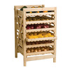 Rustic Wooden Orchard Rack