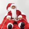 Santa Claus Dog Rider Costume