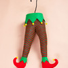 Santa and Elf Legs - Stuck In The Christmas Tree Decor
