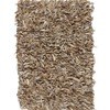 Scrappy Shag Leather Rugs