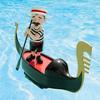 Serenading Pool Gondolier