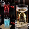 Shark Attack Glass Beer Mug