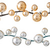 Silver Ball Ornaments Garland