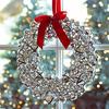Silver Jingle Bells Wreath