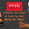 Simply Beyond Pumpkin Spice Food Spray