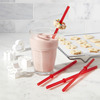 Sip and Snack Cookie Holding Straws
