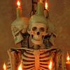 Skeleton Chandelier