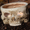 Skull Votive Candle Holder