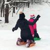 Sled Legs - Wearable Snow Sleds