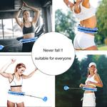 Smart Weighted Hula Hoop - Won't Fall Down!