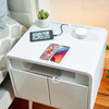 Sobro Smart Side Table - Wireless Charging, Fridge, Mood Lighting, and Speakers