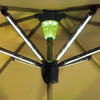 Solar-Powered Lighted Patio Umbrella