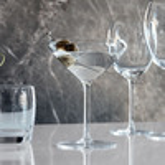 Spill-Preventing Martini Glasses