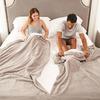 Split Couple Blanket and Sheet Bedding Set