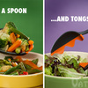 Spoon Tongs - Grabs, Stirs, Spoons and Serves