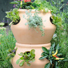 Stackable Strawberry and Herb Planters