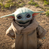 Life-Size Grogu / Baby Yoda Replica Figure From Star Wars The Mandalorian