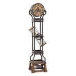 Steampunk Hour Glass Grandfather Clock