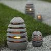 Stone Egg Lanterns