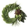 Succulent Dasheen Leaf Wreath