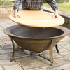 Syrup Kettle Fire Pit
