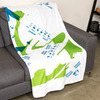Taco Bell Burrito Wrapper Blanket