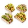 Taco Serving Kit With Wooden Storage Box