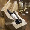 Tarang Teak Wine Bottle Holder