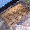 Teak Slatted Wooden Doormat