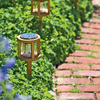 Teak Solar Accent Lights