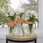 Terracotta Vase Tops - Transform Mason Jars Into Vases