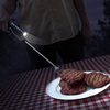 TGX Tactical BBQ Fork with Flashlight and Laser Sight