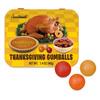 Thanksgiving Gumballs - Turkey, Cranberry and Pumpkin Pie Flavors!
