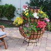 Three-Tier Natural Coco Fiber Planter and Water Fountain