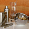 Tilted Stainless Steel Snack Bowls