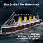 Titanic 3D Puzzle with LED Lighting