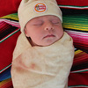 Tortilla Baby - Swaddle Blanket and Matching Hat