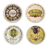 Touch Of Toulouse - Appetizer Wine Plates