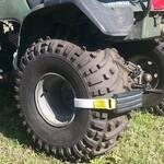 Trac-Grabber - Strap-On Tire Traction Blocks