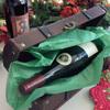 Treasure Chest Wooden Wine Bottle Gift Box