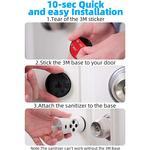 UV Light Door Handle Sanitizer