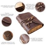 Vintage Handmade Leather Journal