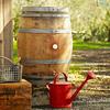 Vintage Wine Rain Barrel