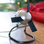 Vornado Zippi Fan with Innovative Soft Cloth Blades