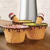 Waffle Cone Ice Cream Bowls