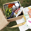 Wicker Picnic Cooler / Seat