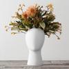 Wig Head Vase
