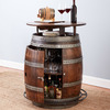 Wine Barrel Bistro Table