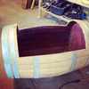 Wine Barrel Chairs and Table