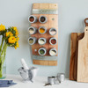 Wine Barrel Magnetic Spice Rack